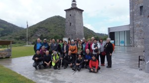 El grupo en Torre Madariaga